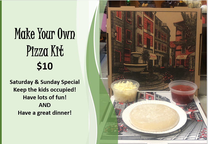 Franks pizza make your own kit