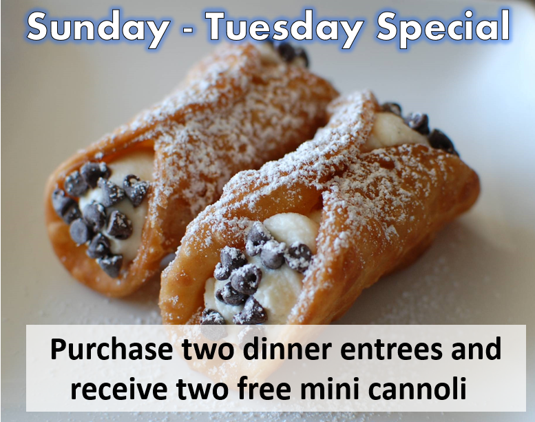 franks cannoli special